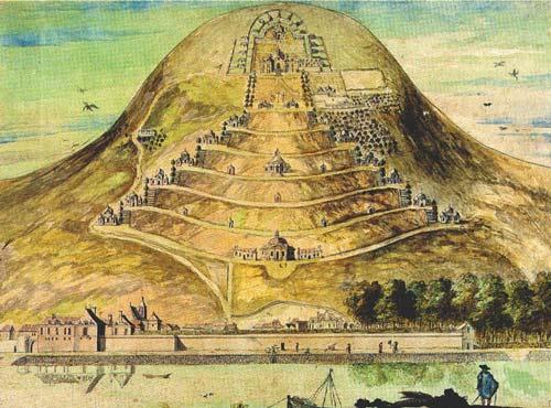 Ancienne image du mont Sion