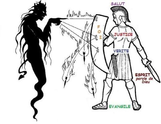 Armure de dieu pour combattre Satan