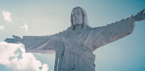 Statue de Jésus au Pérou