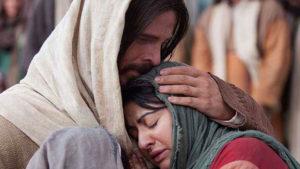 Jésus réconfortant Marie-Madeleine