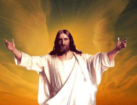 Jésus accueille dans ses bras
