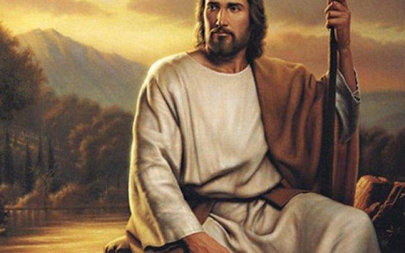 Jésus Christ au lever du soleil